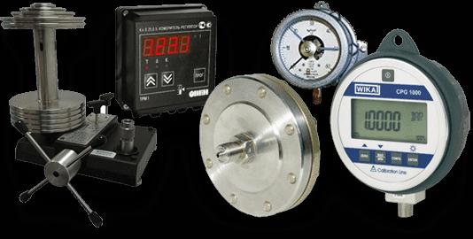 Приборы для измерения и регулирования давления