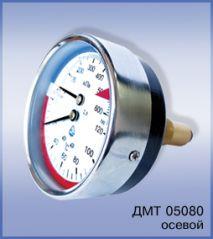 манометр с термометром ДМТ 05080 осевой