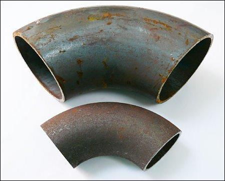 Відводи сталеві, нержавіючі