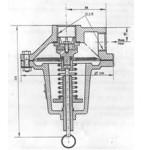 Клапан предохранительный выкидной КЗВ-50, КЗВ-25 купить