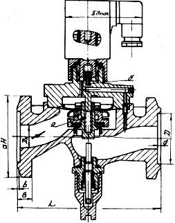 Клапан мембранный с электромагнитным приводом СВМА 15кч848п
