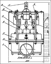 Блок питания газовый БПГ-5 чертеж