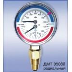 Манометры с термометром ДМТ купить
