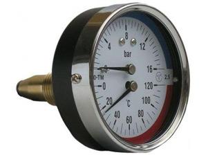 Термоманометры осевые МТ–80–ТМ-О