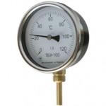 Термометры биметаллические показывающие ТБУ-100 купить