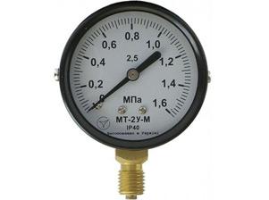 Манометри, вакуумметри, мановакуумметри показують МТ-2У