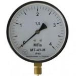 Манометри, вакуумметри, мановакуумметри показують МТ-4У