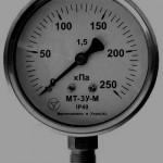 Манометры, вакуумметры, мановакуумметры  виброустойчивые МТ-3У купить