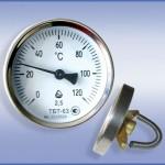 Термометры биметаллические трубные ТБТ купить