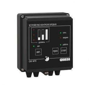 Сигнализатор уровня жидких и сыпучих сред с дистанционным управлением САУ-М7Е ОВЕН