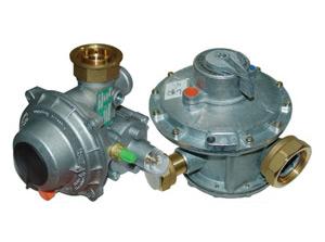 Регулятори тиску газу серій FE (FIORENTINI, Італія), B; REGAL (FRANCEL, Франція) R; B / 249; A / 149 TARTARINI (Італія)