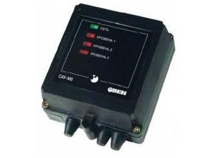Сигналізатор рівня рідини трьохканальний САУ-М6 ОВЕН