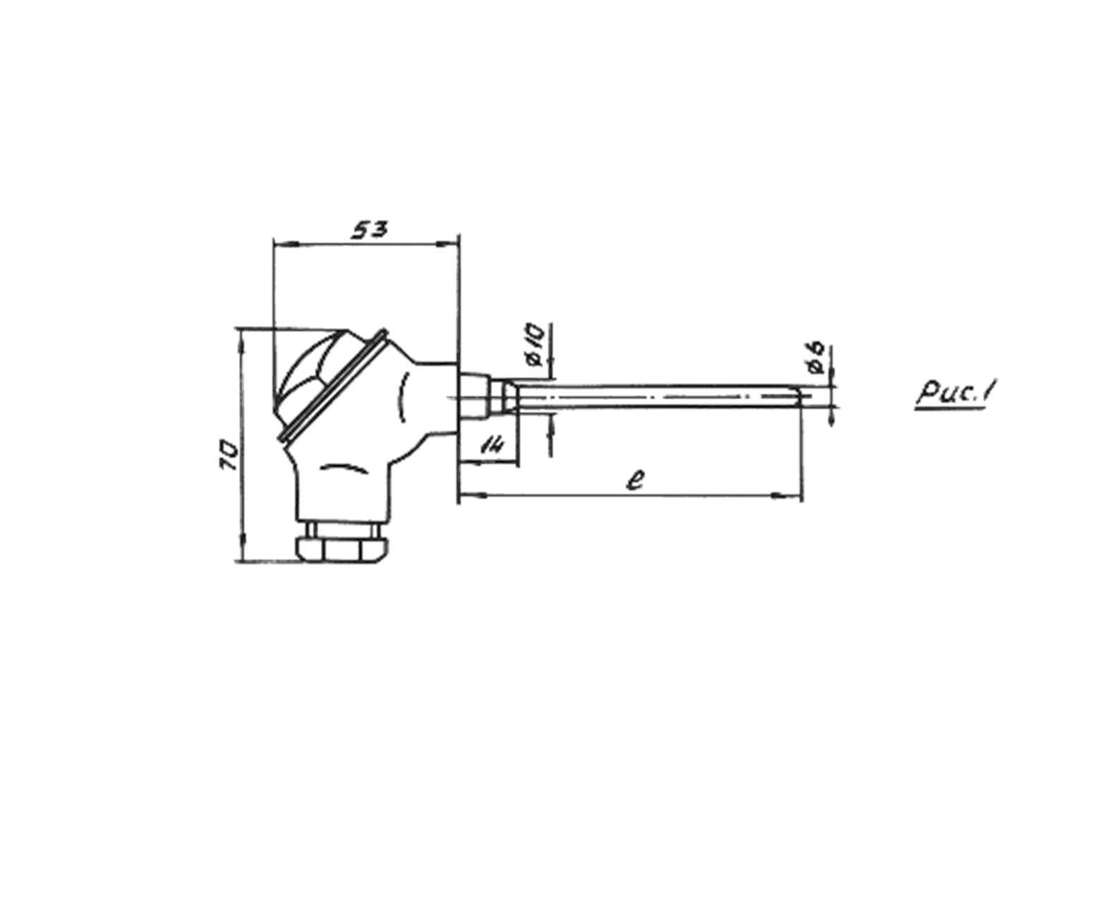 Термоперетворювачі опору ТСП-0889