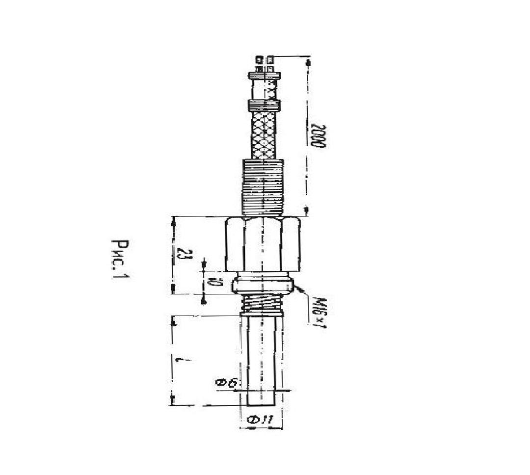 Преобразователь термоэлектрический ТХК-2488