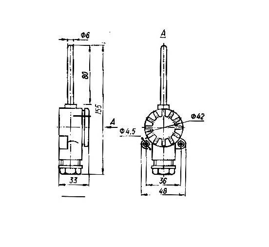 Термопреобразователи сопротивления ТСП-0987, ТСМ-0987