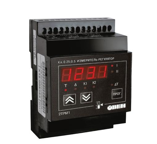 Измеритель-регулятор двухканальный 2ТРМ1 ОВЕН