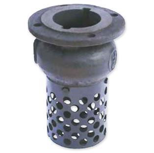 Клапан зворотний приймальний з сіткою фланцевий 16ч42р