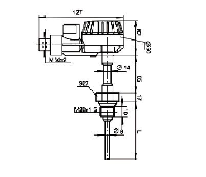 Термоперетворювачі з уніфікованим вихідним сигналом ТСПУ-, ТСМУ-, ТХАУ-0288;ТСПУ-, ТСМУ-, ТХАУ-0388