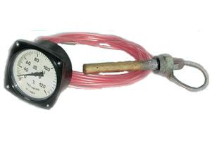 Термометры манометрические показывающие виброустойчивые ТКП-60/3М, ТПП-2В