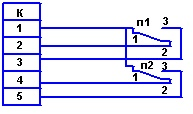 Схема внешних соединений ТКП-160Сг-М2