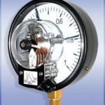 Манометры сигнализирующие с электроконтактной приставкой ДМ Сг 05   купить