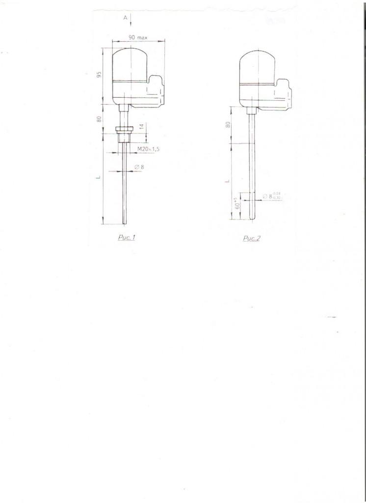 Термопреобразователи с унифицированным выходным сигналом ТСПУ, ТСМУ, ТХАУ-0289