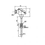 Перетворювач термоелектричний кабельний типу ТХА-2288В