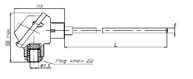Перетворювач термоелектричний схема