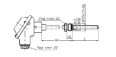 Перетворювач термоелектричний схема 2