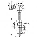 Термоперетворювач опору ТСП-8041Р купить