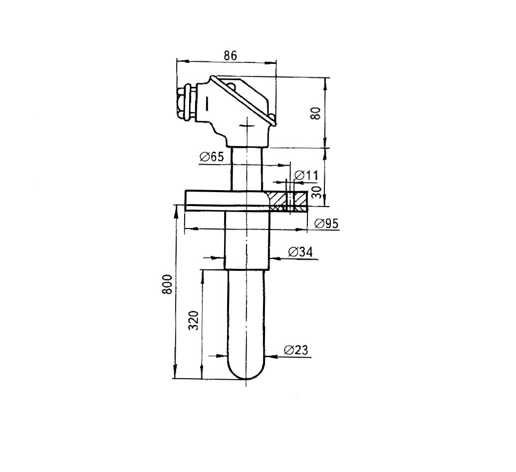 Перетворювач термоелектричний ТПР-0475