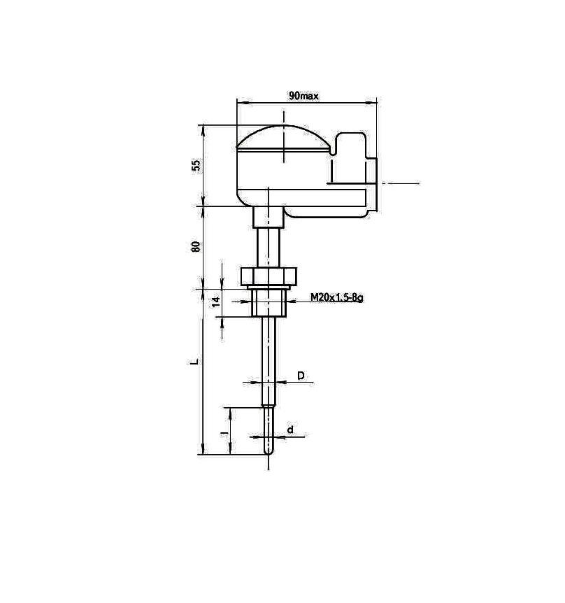 Термопреобразователи сопротивления ТСП-0989Р, ТСМ-0989Р