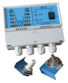 Сигнализаторы газа коммунальные СГ-1-1, СГ-1-2, СГ-1-3