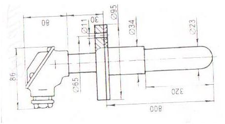 Преобразователь термоэлектрический ТПР0475