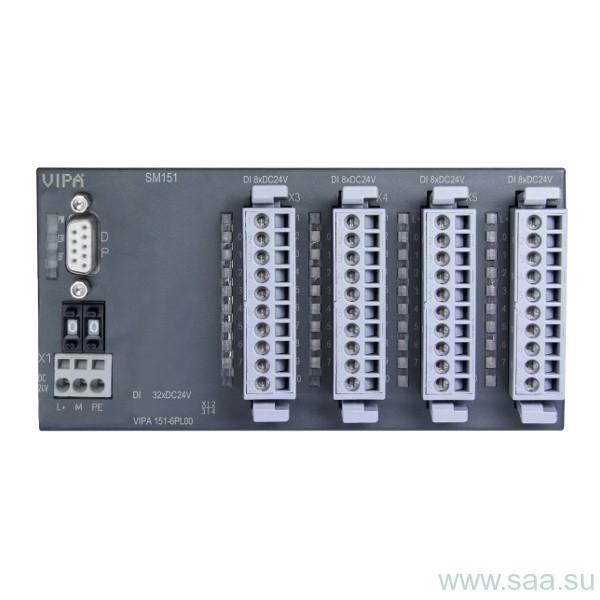 VIPA 100V (для задач нижнього рівня складності до 160 входів / виходів)