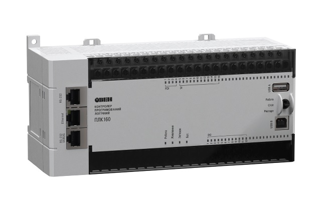 ПЛК160[М02]. Программируемый логический контроллер