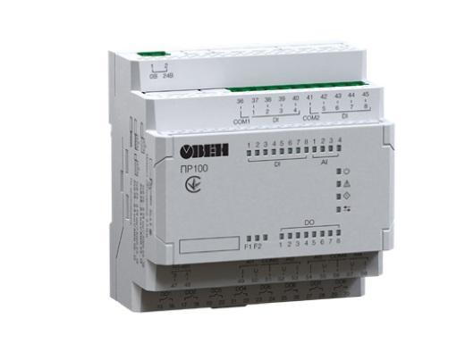 ПР100. Компактное программируемое реле с интерфейсом RS-485