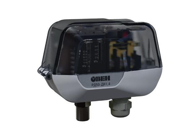 РД50. Механічне реле тиску для систем тепло- і водопостачання