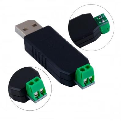 Бюджетный преобразователь интерфейсов USB-485 CH340