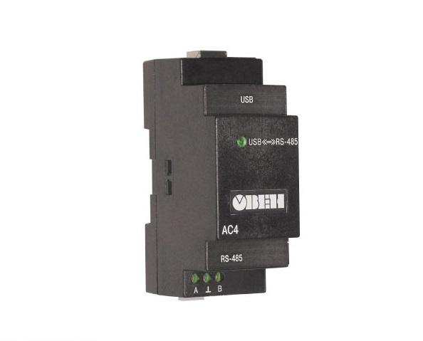АС4. Автоматический преобразователь интерфейсов USB/RS-485