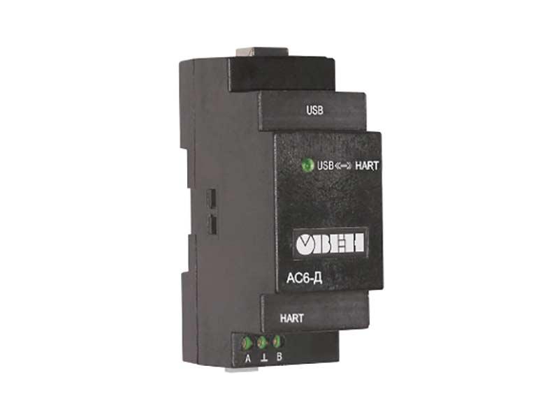 АС6-Д Преобразователь интерфейсов HART-USB