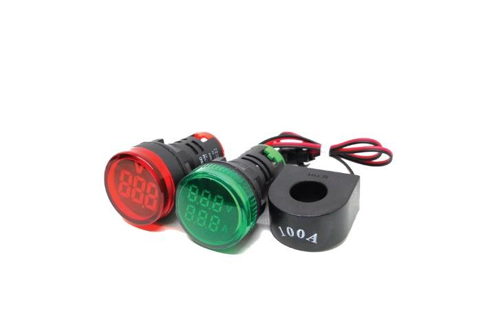 Цифровые индикаторы напряжения и тока МТ22