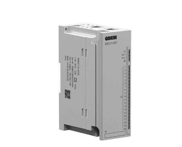 МК210. Модулі вводу-виводу дискретних сигналів з Ethernet