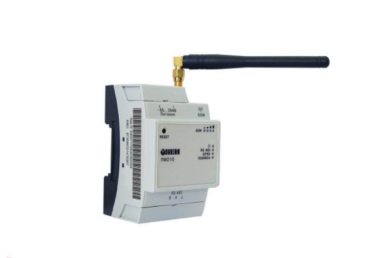 ПМ210. Шлюз сетевой для доступа к сервису OwenCloud RS-485 / GPRS