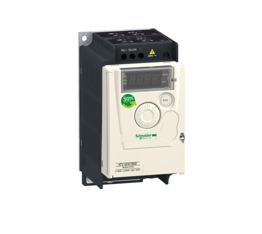 Преобразователи частоты Schneider Electric, серия ATV12 от 0,18 до 4кВт