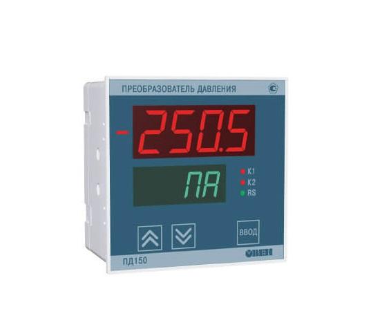 Датчик давления для котельной автоматики и вентиляции ПД150 (Цифровой тягонапоромер)