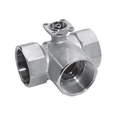 Запорные трехходовые (открыто/закрыто) клапаны Belimo R30…-B..