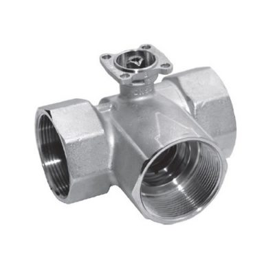 Запорные трехходовые (открыто/закрыто) клапаны Belimo R30…-S..