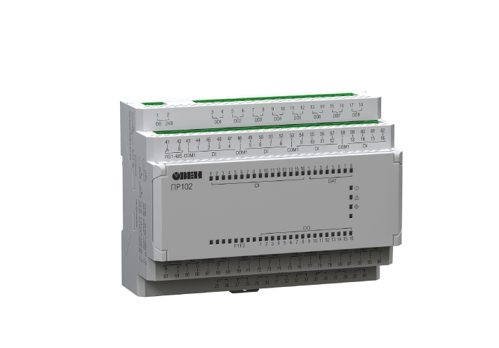 ПР102. Программируемое реле на 40 каналов ввода/вывода